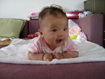 我可爱的女儿